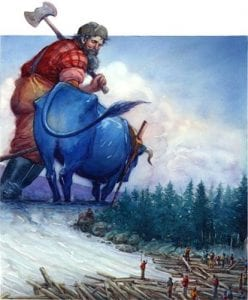 Paul Bunyan: A 19th C. Folklore Or A Real Hero? 5