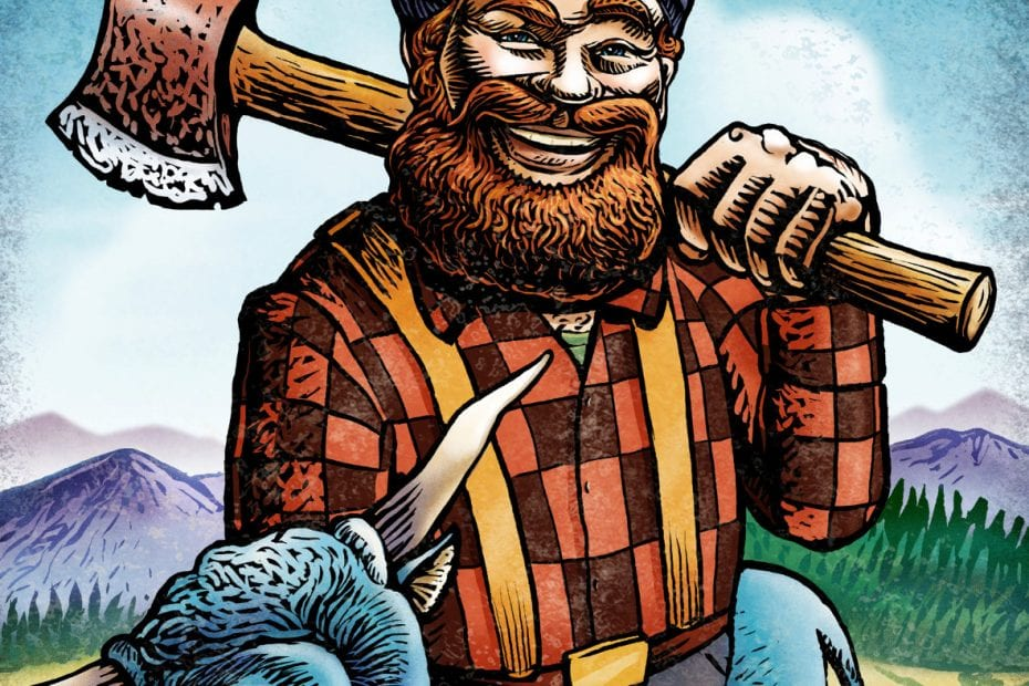 Paul Bunyan: A 19th C. Folklore Or A Real Hero? 1