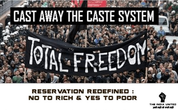 Reservation is Not the Solution to Casteism 1
