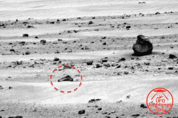 Hand Gun Found on Mars: Truth or Conspiracy Theory? 4