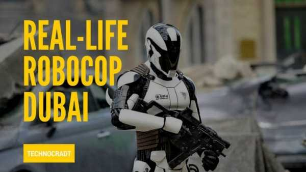 World's First Robocop Makes Its Debut In Dubai 1