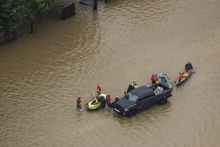 Texas Flooded, US Government Continues Rescue Operation 1