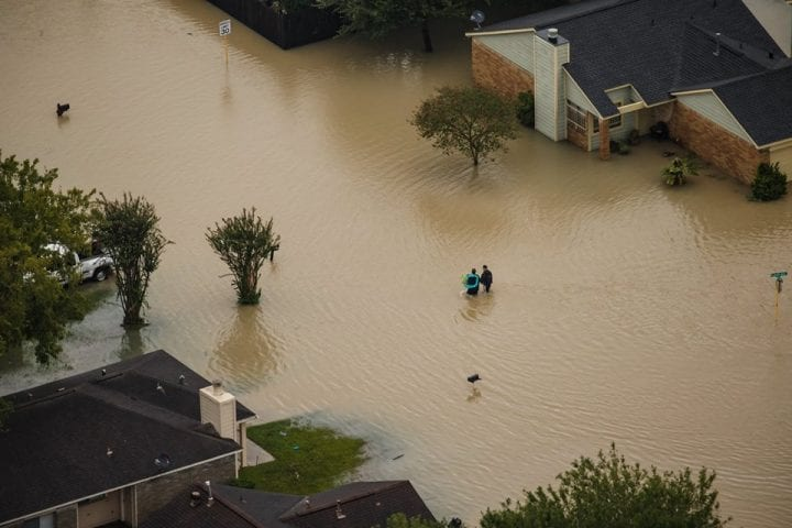 Texas Flooded, US Government Continues Rescue Operation 2