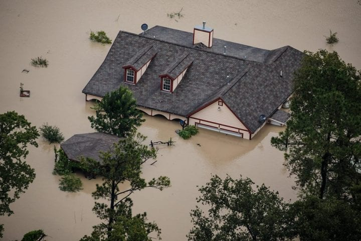Texas Flooded, US Government Continues Rescue Operation 4