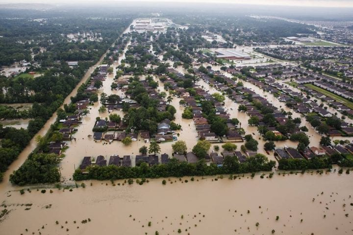 Texas Flooded, US Government Continues Rescue Operation 7