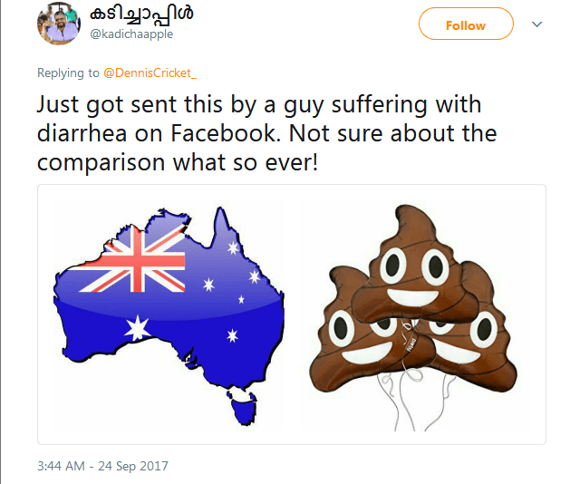 Australian Journalist Roasted After He Compared India's Map To Women's Underpants 14