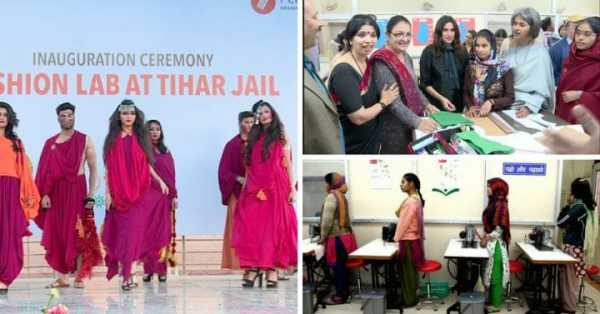 New Delhi's Latest Fashion Show With Designs From Tihar 4