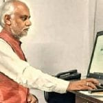 Vice-chancellor of R.G.V.P College Prepares for Online Exams 22