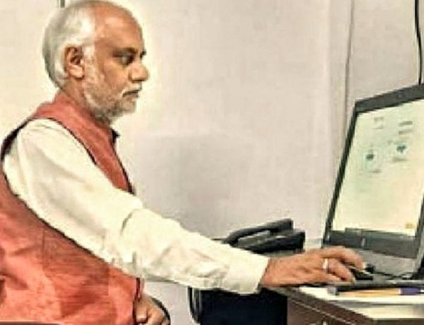Vice-chancellor of R.G.V.P College Prepares for Online Exams 4