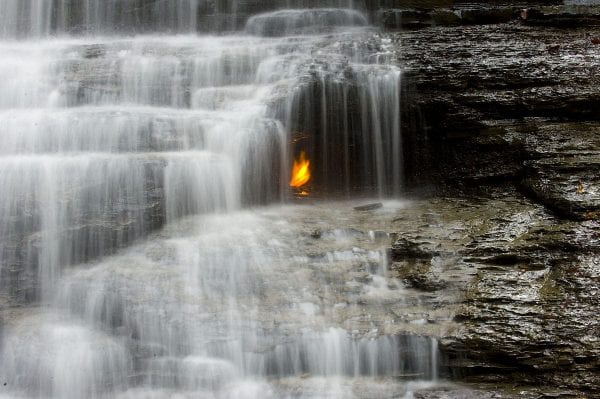 Eternal Flame Falls, The United States of America