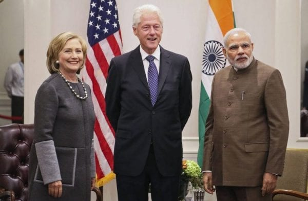 Hillary Clinton's take on Indian Students